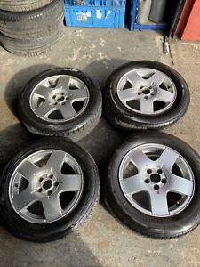 Volkswagen 15inch Alloys 195/60r15 Tyres 5x100 Stud