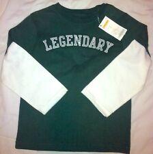 NWT Gymboree Dragon Academy green top Sz 4 long sleeve Legendary