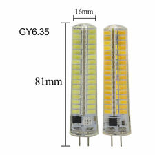 10W Dimmable GY6.35 136-5730SMD LED 110V220V Silicone Lamp Bulb White Warm Light