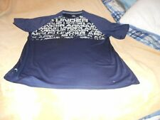 UNDER ARMOUR HEAT GEAR BLUE WITH UNDER ARMOUR WORDS SHIRT SIZE 3XL