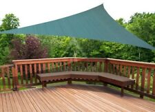 New- COOLAROO Triangular Shade Sail Green 12' Party Patio Playground Protection