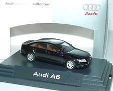 1:87 Audi A6 C6 ebonyschwarz schwarz black - Dealer-Edition - Busch 5010406122