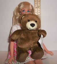 FASHION DOLL MINIATURE STUFFED PET BEAREMY TEDDY BUILD A BEAR TOY 1/6 SCALE