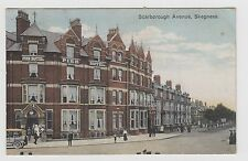 SKEGNESS Scarborough Avenue   Postcard  used   1924