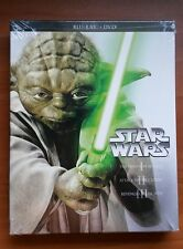 Star Wars Prequel Trilogy (Blu-ray/DVD, 2013, 6-Disc Set) BRAND NEW, SEALED