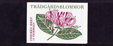 Sweden - 1997 Garden Flowers Booklet - U/M - SG SB504