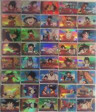 Dragon Ball Z Holochrome Chromium Archive Edition Card Set  80 Cards Artbox 2000