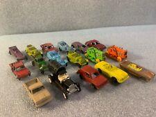 LOT OF 17 VINTAGE DIECAST CARS TOOTSIETOY HUSKY EFSI
