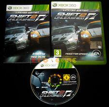SHIFT 2 UNLEASHED XBOX 360 Versione Italiana 1ª Edizione ••••• COMPLETO