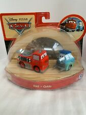 Disney Pixar Cars Wood Collection 2010 Toy R Us Red Guido Rare Set