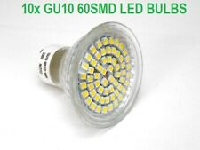 10x GU10 Warm White 3W 60 SMD LED BULB Lamp Ceiling Home Lighting Energy Saving