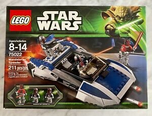 BRAND NEW LEGO Star Wars Mandalorian Speeder (75022) - In Factory SEALED Box!!!