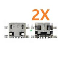 2X LG K10 MS428 K425 K428 F670 L62VL K420 Mictro USB Charger Charging Port Dock