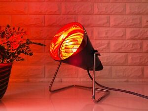 Vintage Philips Infraphil Heat Lamp 150W Health Lamp Light Therapy