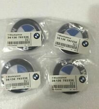 4 Pcs BMW² Genuine Emblem Logo Badge Hub Wheel Rim Center Cap 68mm Set of 4 grey