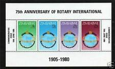 Mint Never Hinged/MNH Zimbabwean Stamps