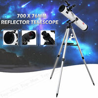 TOP-MAX@700x76mm Reflector Telescope SKY WATCHER with Tripod and Eyepieces US
