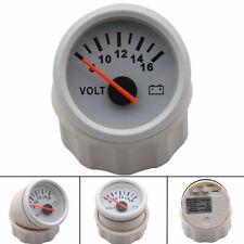 52mm Volt Meter Marine Auto Voltmeter 8-16V Waterproof Gauge For Motorcycle Car