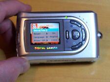Vivitar ViviCam 3780s 3.0MP Digital Camera - Black & Silver