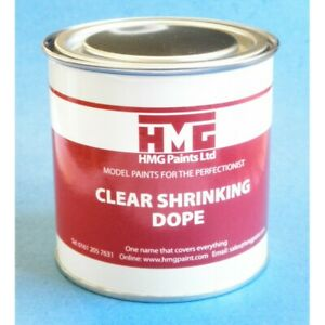 HMG General Purpose Clear Shrinking Dope - 250ml Can