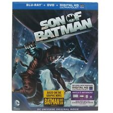 Son of Batman (2-Disc Blu-ray + DVD Set, 2014) DC Comics