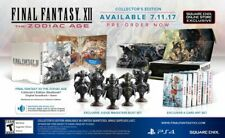 FINAL FANTASY XII THE ZODIAC AGE COLLECTOR'S EDITION [PS4] w/Steelbook & Statues