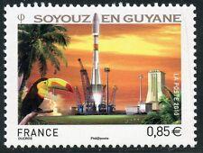 STAMP / TIMBRE FRANCE  N° 4458 ** DECOLLAGE DE LA FUSEE RUSSE SOYOUZ EN GUYANE