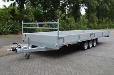 Anhänger VLEMMIX Hochlader 3500 kg 630 x 213 cm 3 Achsen EXTRA LANG NEU