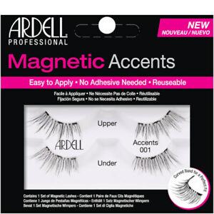 Ardell Magnetic Lashes ACCENTS 001/002/003 Black Fake False Eyelash Extension