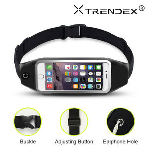 For iPhone 12 11 Pro XS Max Sport Belt Waist Bag Pouch Pack Running Jogging Case