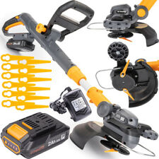 Cordless Electric Brushcutter / Strimmer /  20V / 2000mAh Accessories 12 Blades