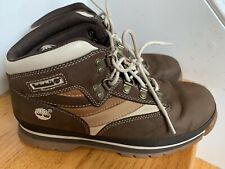 Timberland Hiking Boots Size 5.5M Brown Leather Great Condition