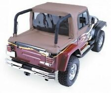 Rampage Cab Soft Top and Tonneau Cover for Wrangler TJ, Spice Denim