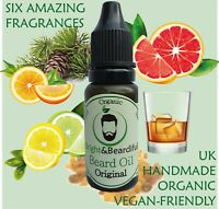 Premium Beard Oil for Conditioning, Growth, Thicker, Fuller, Softer Beard 15ml
