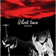 "NEW! Madonna ""Ghost Town"" Remixes 2lp Clear Disc Vinyl Picture Cover"