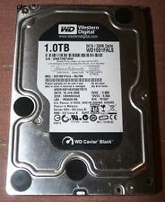 Western Digital Caviar Black 1Tb Hard Drive-WD1001FALS-7200 rpm, SATA 3Gb/s-Used