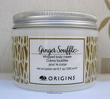 Origins Ginger Souffle 200ml Full Size pot - New -SMALL DENTS ON MOST LIDS