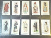 1916 PLAYERS PAST & PRESENT theater stage actor set 25 cards Tobacco Cigarette