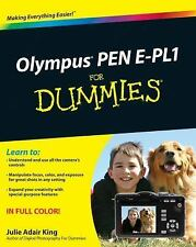 Olympus PEN E-PL1 for Dummies by Julie Adair King (2010, Paperback)