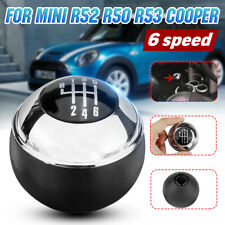 6 Speed Car Gear Shift Knob Manual Chrome For MINI R50 R52 R53 COOPER 7542272