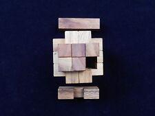 18 Pc Dragon Burr wood brain teaser Puzzle 6x6x6 wooden