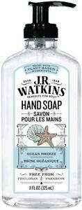 J. R. Watkins Liquid Hand Soap, 11 fl oz  Ocean Breeze