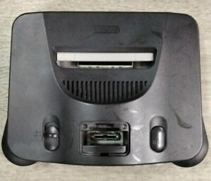 Nintendo 64 Core System Charcoal Gray Home Console (READ DESCRIPTION)