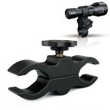 Flashlight/Laser/Rifle Scope Light Clamp Dual Hole Gun Mount Holder For Hunting