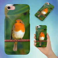 NATURE BIRD RED ANIMAL HARD BACK CASE FOR APPLE IPHONE PHONE