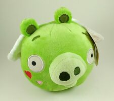 Angry Birds Plush Green Pig Cupid Wings Valentines NEW w/ TAGS No Sound