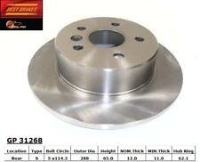 Disc Brake Rotor-Standard Brake Rotor Rear Best Brake fits 2000 Toyota Avalon