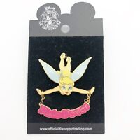 Disney Official Trading Pin Tinkerbell Pixie Power Dangle Pin 2003
