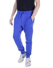 Polo Ralph Lauren Men's M MEDIUM MED Fleece Pants Pacific Royal Blue SWEATPANTS