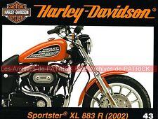 HARLEY DAVIDSON XL 883 R Sportster L'Equipée Sauvage The Wild One Marlon BRANDO